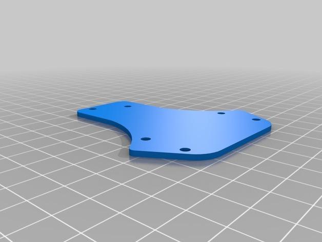 MicroTri 迷你RC 三轴飞行器RchobbysUK 3D模型  图2