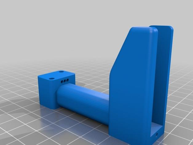 MicroTri 迷你RC 三轴飞行器RchobbysUK 3D模型  图4