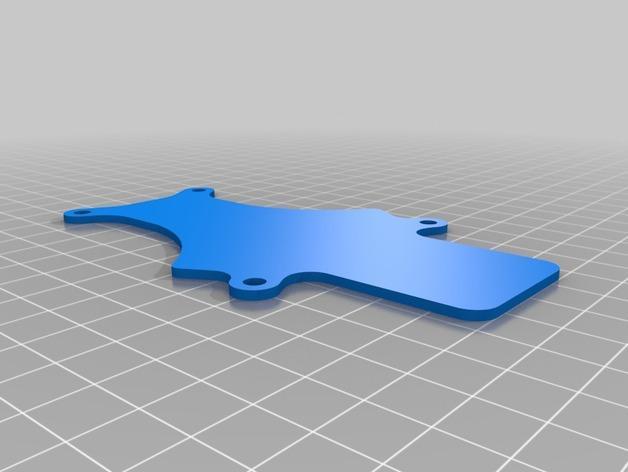 MicroTri 迷你RC 三轴飞行器RchobbysUK 3D模型  图7