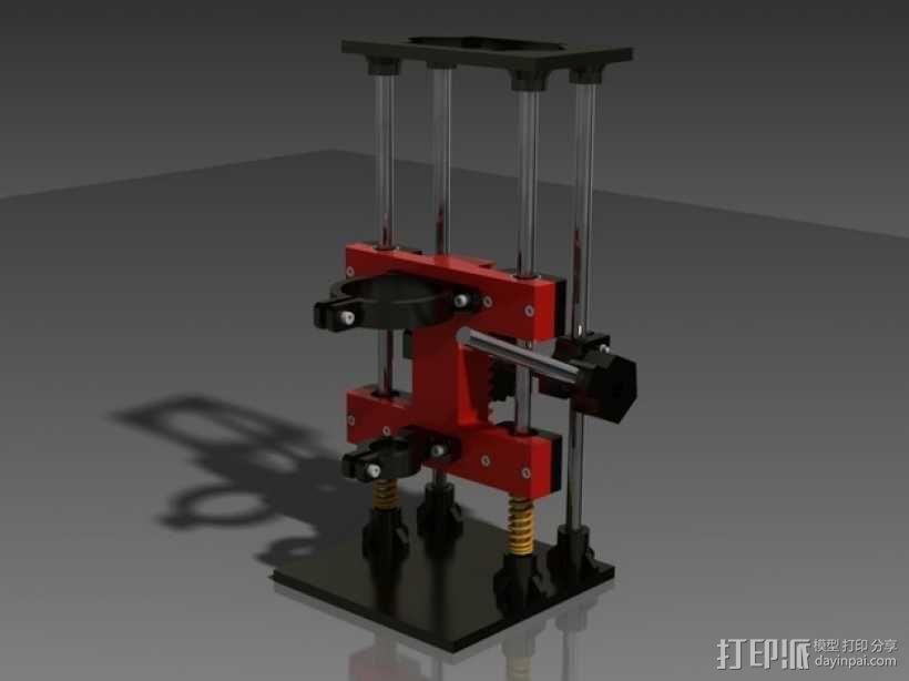 Dremel的钻床 3D模型  图1
