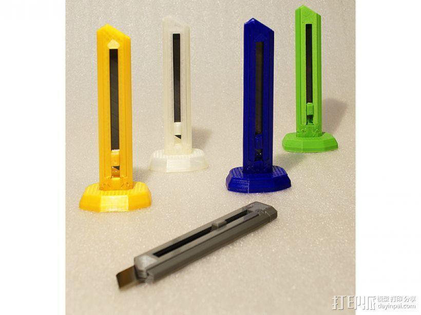 刀片刀 3D模型  图1