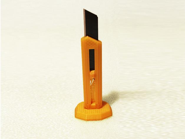 刀片刀 3D模型  图2