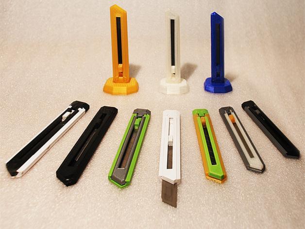 刀片刀 3D模型  图4