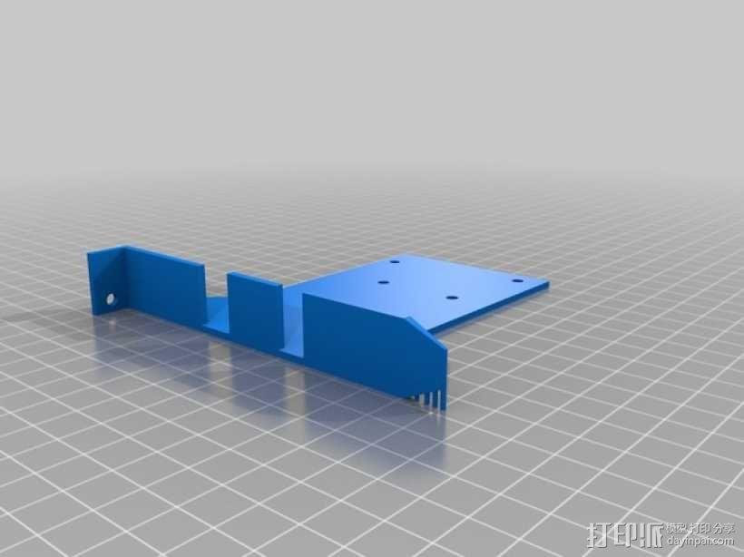 Arduino Uno/Mega的PCI焊接槽 3D模型  图2