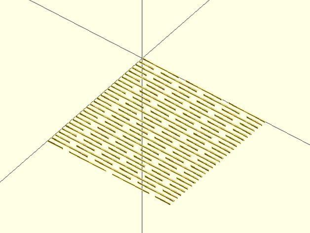 可更改参数型木刻 3D模型  图6