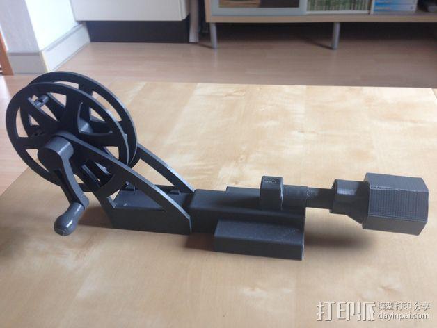 飞钓的线控制器 3D模型  图7