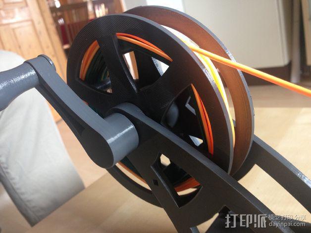 飞钓的线控制器 3D模型  图8