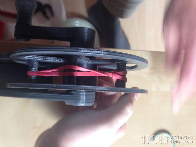 飞钓的线控制器 3D模型  图10