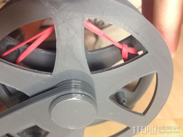 飞钓的线控制器 3D模型  图9