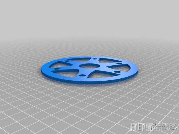 飞钓的线控制器 3D模型  图15
