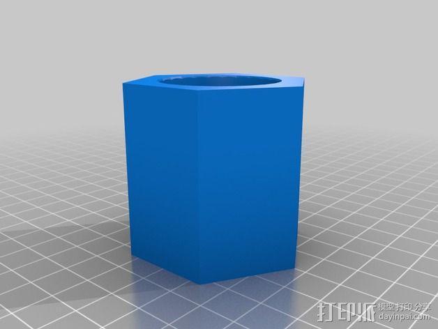 飞钓的线控制器 3D模型  图17