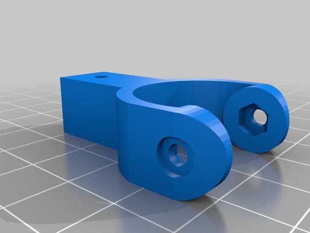 迷你枢轴的通用连接器 3D模型  图2