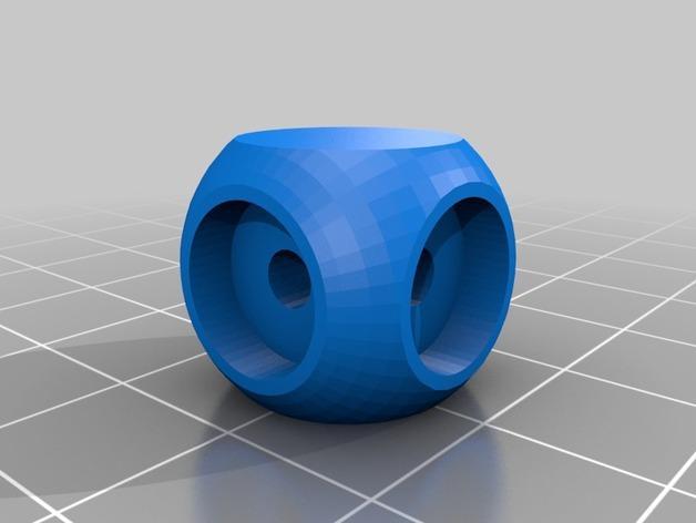 迷你枢轴的通用连接器 3D模型  图3