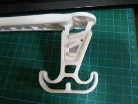 四轴飞行器的减震腿 3D模型