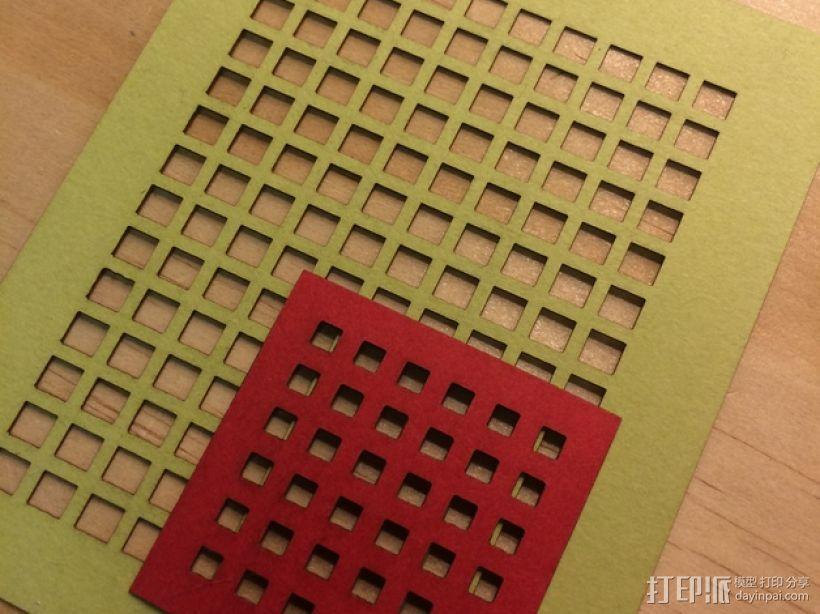 参数网格和板条发生器 3D模型  图2