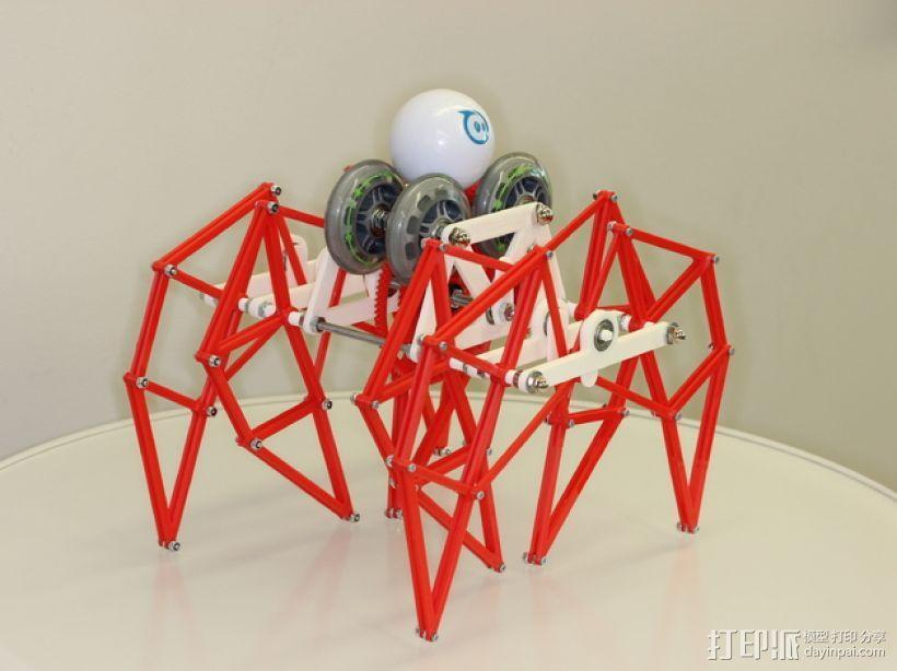 Sphero 行走架#make5000 3D模型  图1