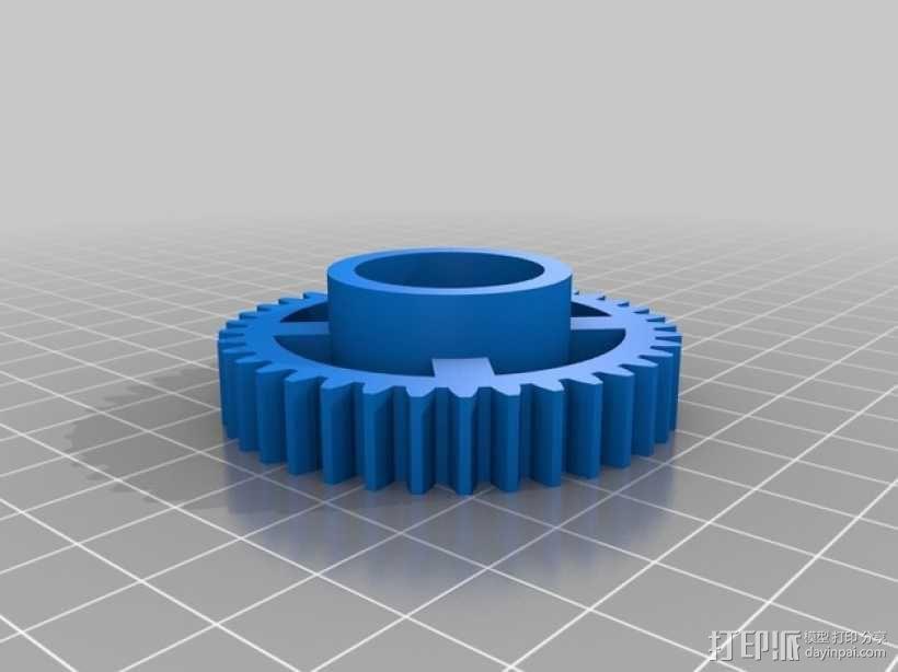 Sphero 行走架#make5000 3D模型  图13