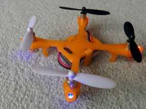 哈博森四轴飞行器机身 3D模型