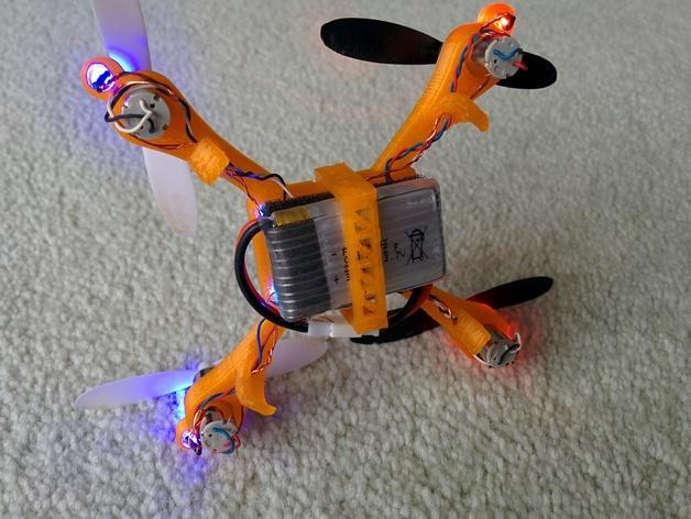 哈博森四轴飞行器机身 3D模型  图4