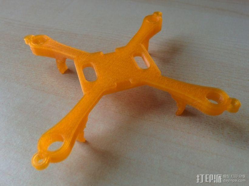 哈博森四轴飞行器机身 3D模型  图6