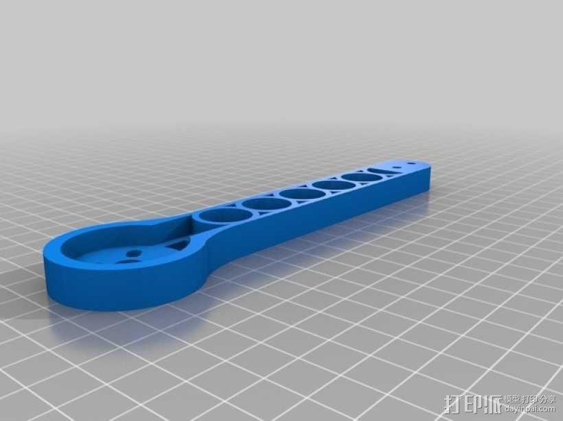 可折叠fpv 四轴飞行器 3D模型  图10