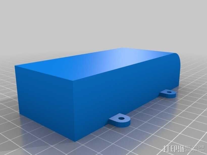 可折叠fpv 四轴飞行器 3D模型  图13