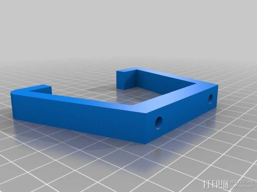 可折叠fpv 四轴飞行器 3D模型  图12