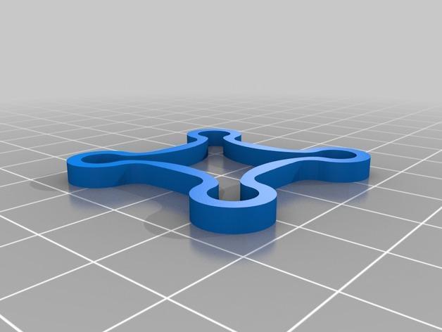 微型四轴飞行器 3D模型  图3