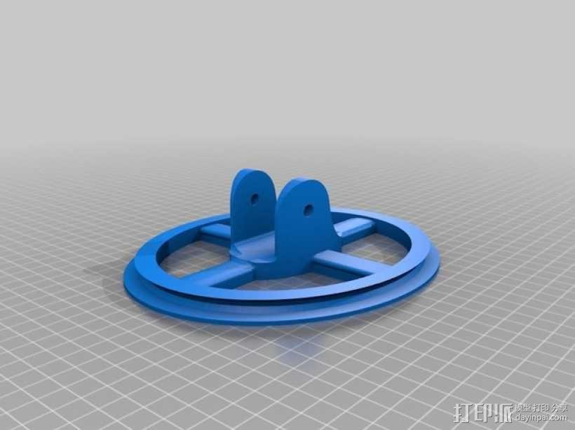 开放金属探测仪项目 3D模型  图2