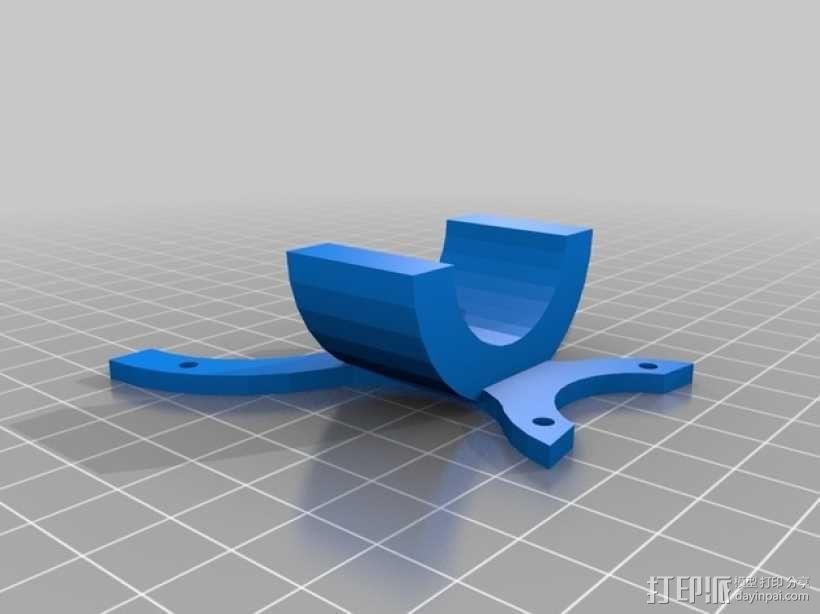 开放金属探测仪项目 3D模型  图4