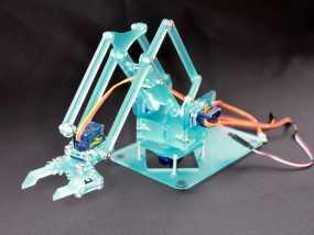MeArm V0.4—口袋大小的机器人手臂 3D模型