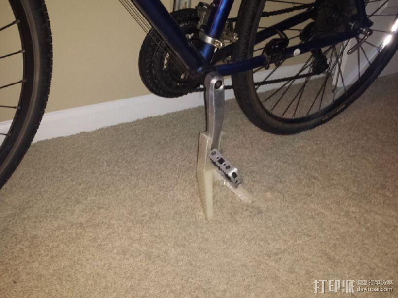 自行车固定架 3D模型  图1