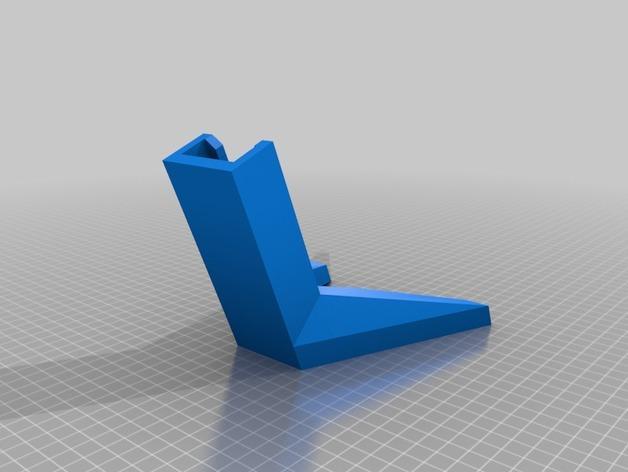 自行车固定架 3D模型  图2