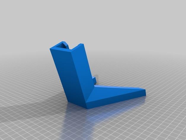 自行车固定架 3D模型  图3