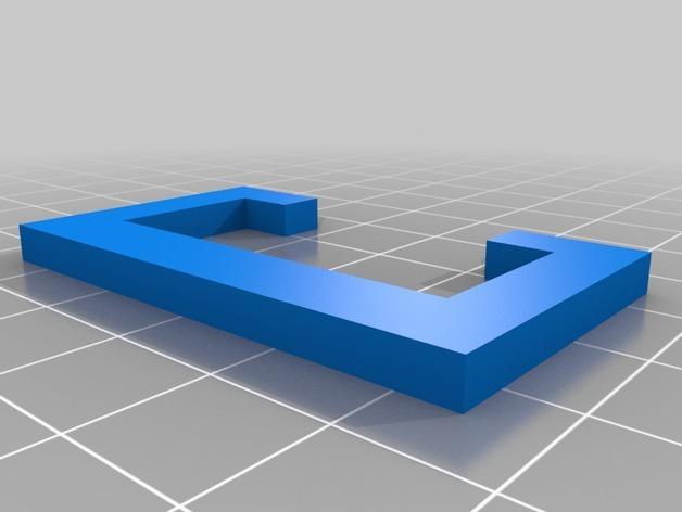 自行车固定架 3D模型  图6