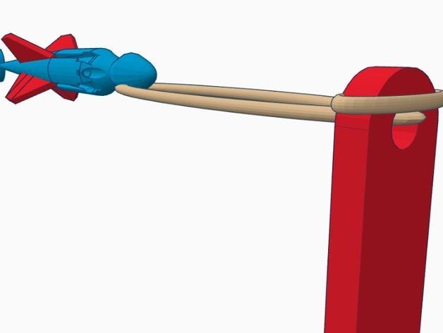 尖叫中的飞镖 3D模型  图5