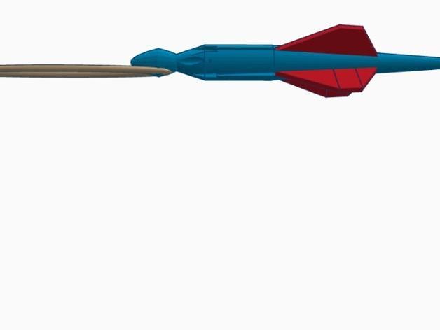 尖叫中的飞镖 3D模型  图6