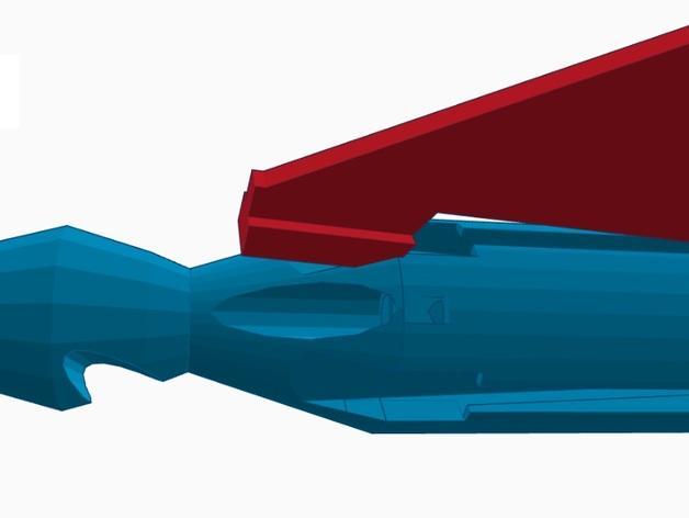 尖叫中的飞镖 3D模型  图7