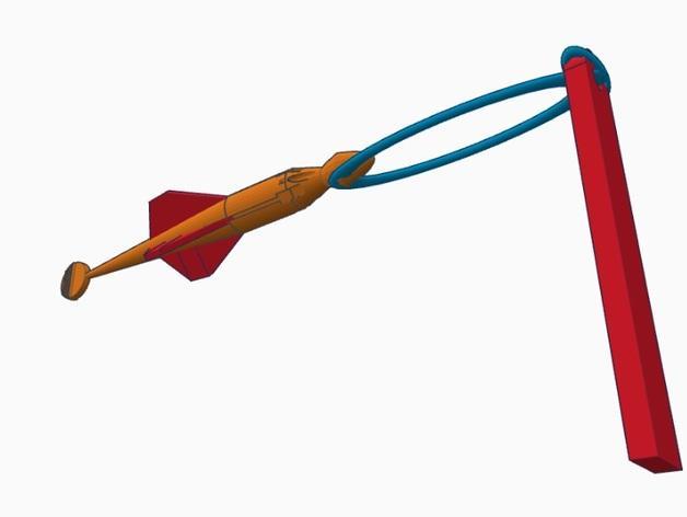 尖叫中的飞镖 3D模型  图9