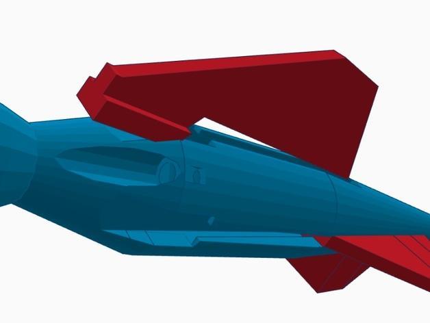 尖叫中的飞镖 3D模型  图8