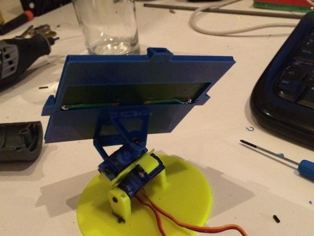 太阳与太阳能板的奇幻爱情 3D模型  图2