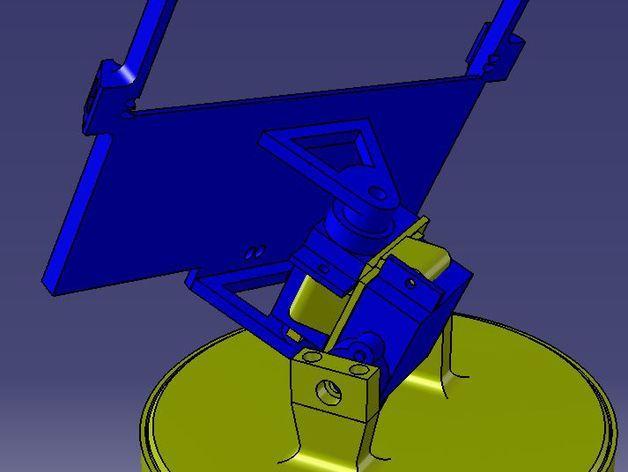 太阳与太阳能板的奇幻爱情 3D模型  图4
