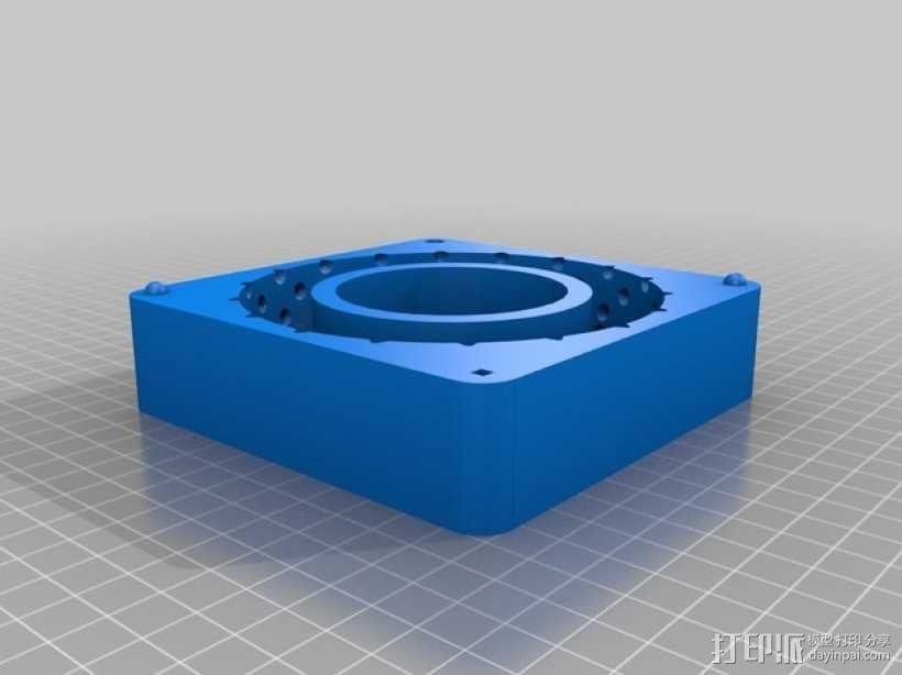 卡车轮胎模型 3D模型  图2