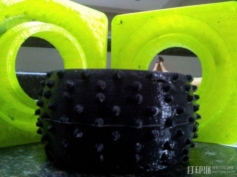 卡车轮胎模型 3D模型  图1