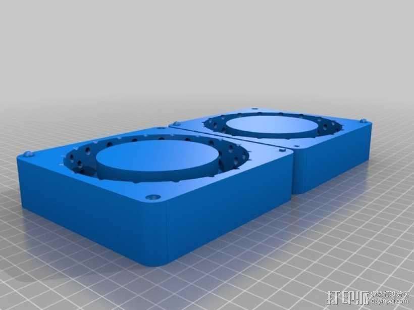 卡车轮胎模型 3D模型  图4