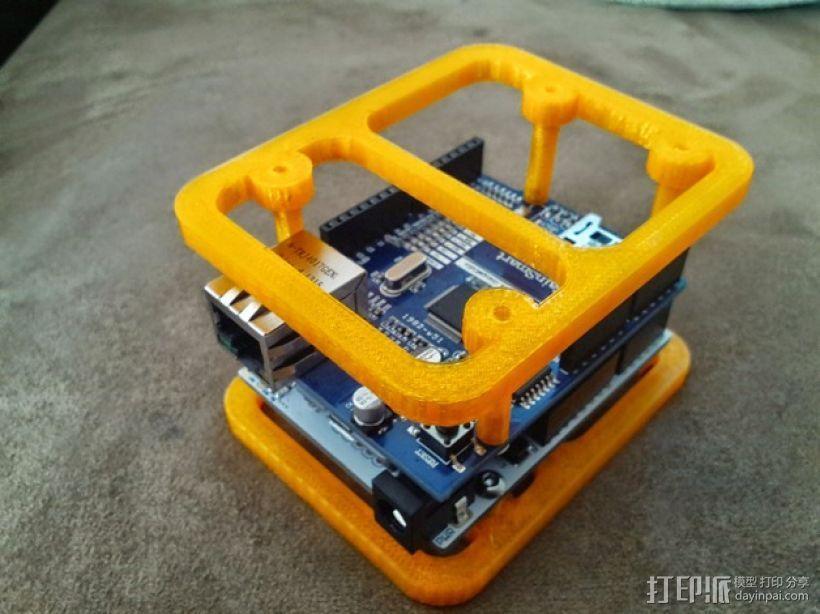 Ardunio Uno w 外壳 3D模型  图1