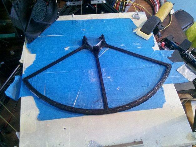 飞行器螺旋桨保护器——Protection d'hèlice F450 3D模型  图6