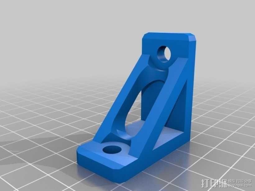 90度支架 3D模型  图1