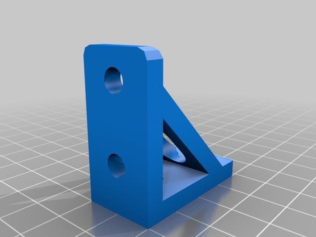 90度支架 3D模型  图2