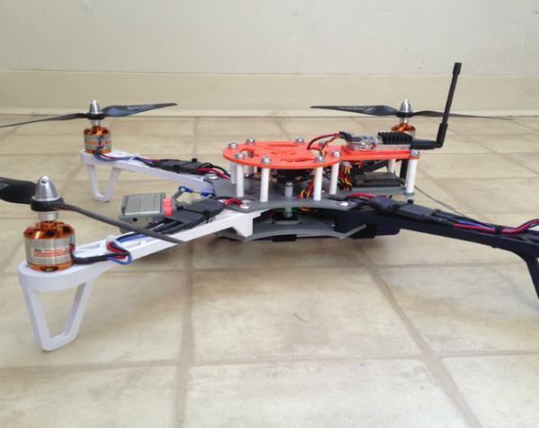 穿越火线号 fpv四轴飞行器 3D模型  图3